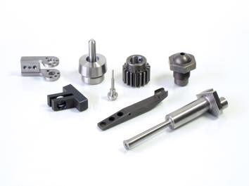 Mecanizado de piezas en acero.
