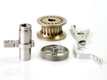 Mecanizado de piezas en acero inoxidable.