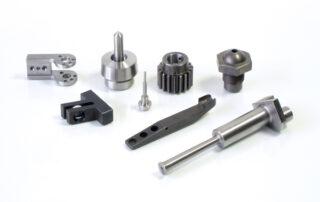 Mecanizado de piezas en acero