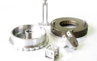 Mecanizado de piezas en aluminio