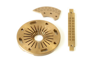 Mecanizado de piezas en cobre